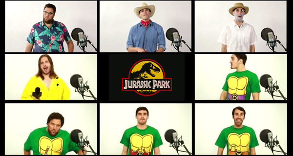Jurassic Park a Capela