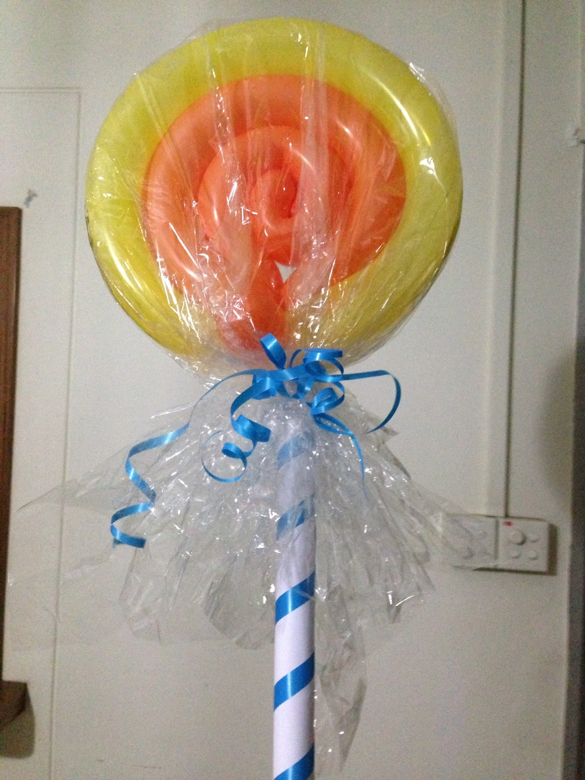 How To Make A Lollipop From A Pool Noodle Just B Cause