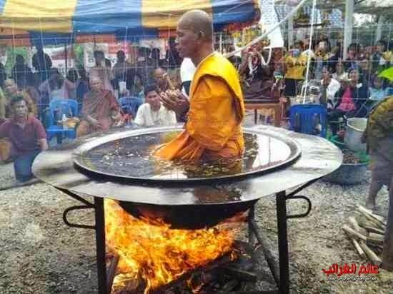 راهب تايلاندي، عالم العجائب
