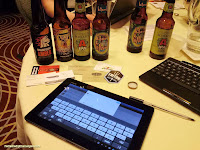 Live Beer Blogging