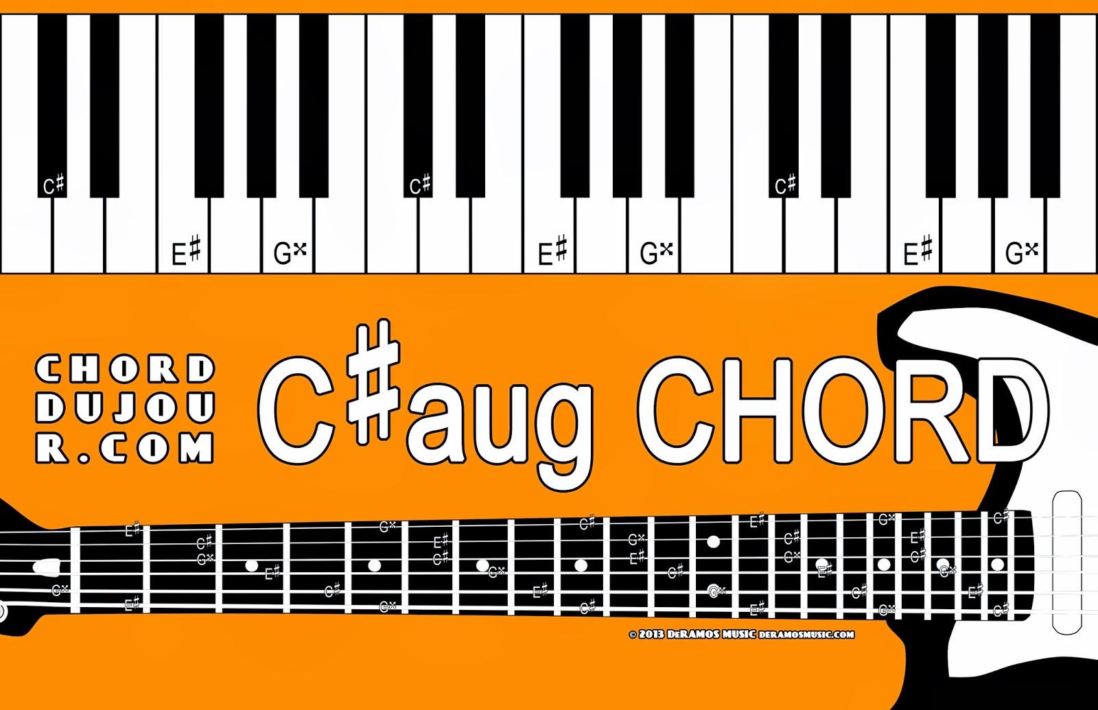 Chord Du Jour Dictionary Caug Chord
