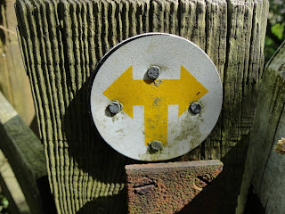 Right of Way Signs at Bow Brickhill Woods