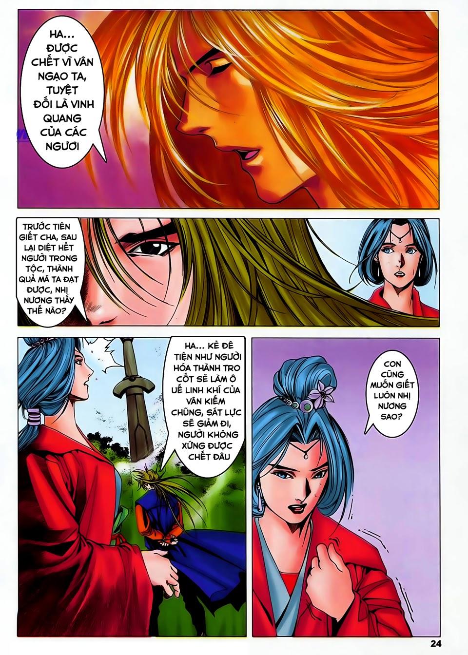 Lục Đạo Thiên Thư chap 37 - Trang 24