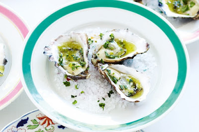 Zesty lime oysters Recipe