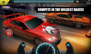 Screenshots of the Street kings: Drag racing for Android tablet, phone.
