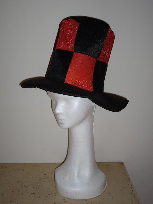 Galera combinada negra y roja