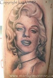 kat von d, miami ink, la ink, tv show, famous, celebrity, tattoos, tatuajes, tatto, tatuaje, high voltage tattoo, los angeles, miami, expensive tattoos, marilyn monroe tattoo