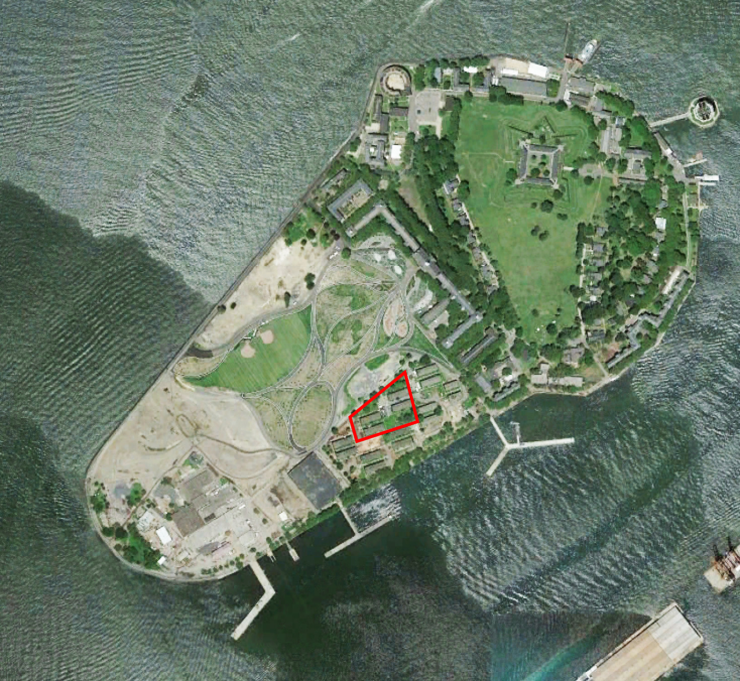 google earth earth matter ny s location on the island