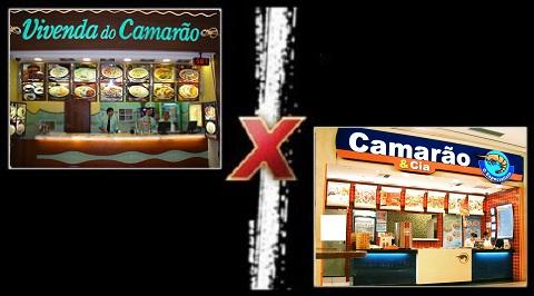Qual o melhor fast-food de camarão: Camarão & Cia ou Vivenda do Camarão?