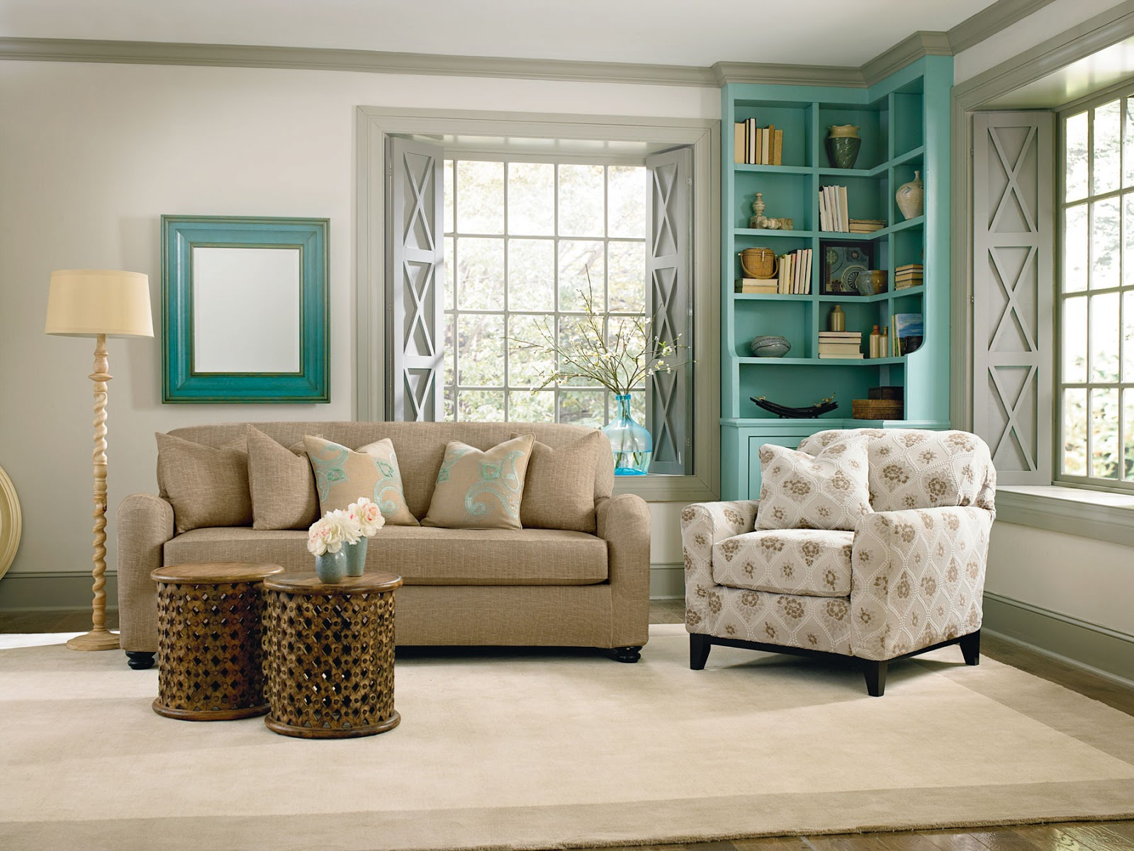Summer Decorating: Revive Your Furniture By Pairing A Pattern Print  title=