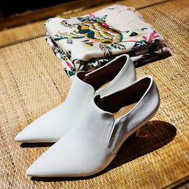 White Go Go Boots are back! Tory Burch Georgina Patent Bootie.
