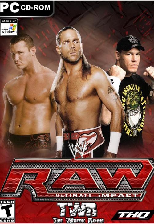افضل لعبة مصارعة علي الاطلاق wwe raw ultimate impact 2012