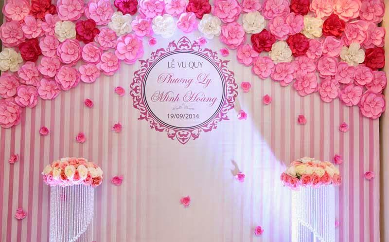 Trang trí phong cưới hỏi