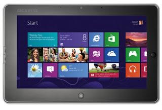 Gigabyte เผย S1082 Windows 8 แท็บเล็ต 10 นิ้ว