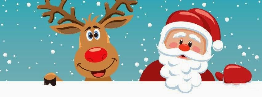 Božićne slike deda mraz i irvas