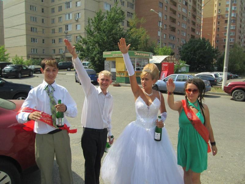 Яркие свадебные фото (27 фото)