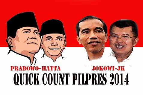 Hasil Hitung Cepat (Quick Count) Pilpres 2014