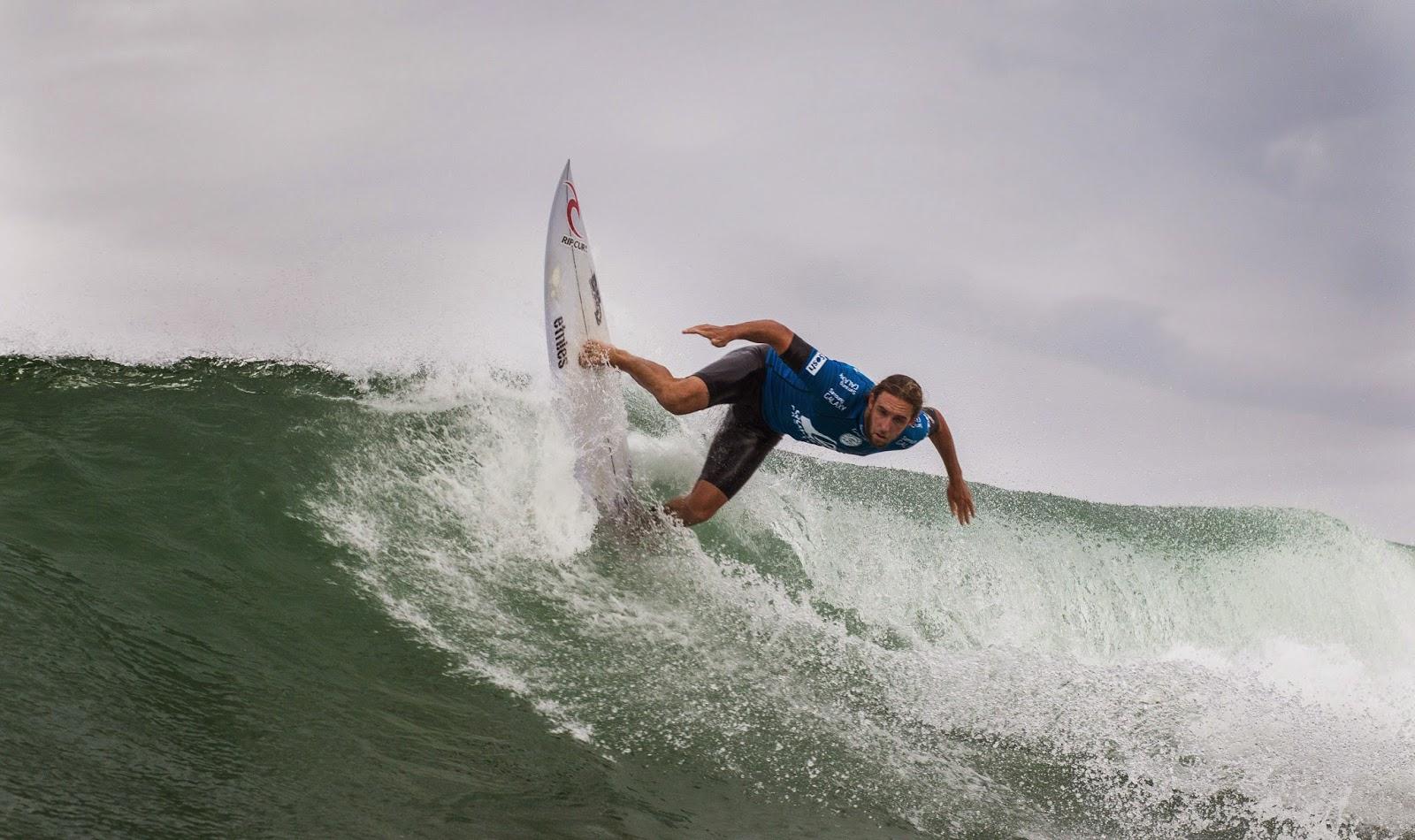 Quiksilver Pro France 2014 Matt Wilkinson AUS Foto ASP