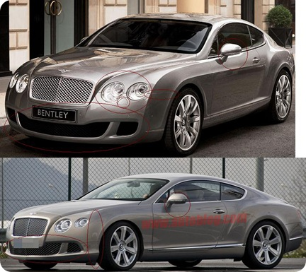 Cars Modified  2011 Bentley Continental GT