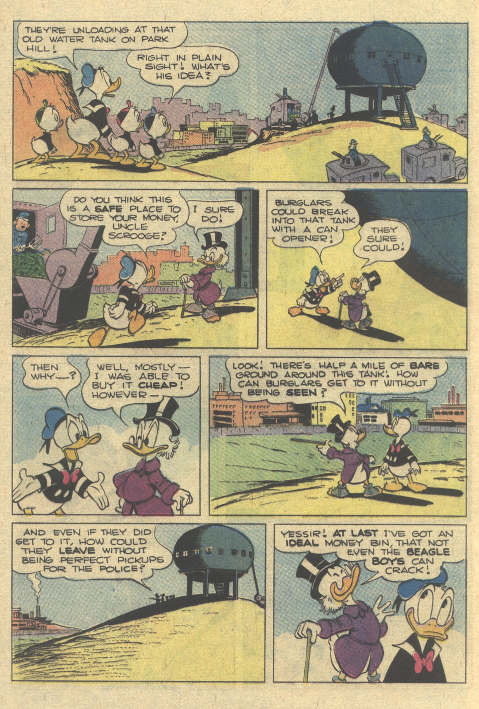 >Uncle Scrooge (1953) Is #233 - English 12