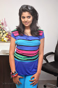 Sravya Glam pics at Linen Club launch-thumbnail-2