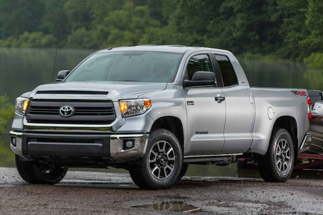 Next 2016 New Toyota Tundra Edition front view