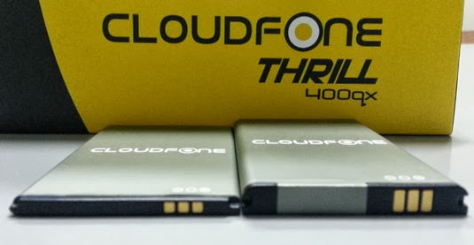 CloudFone Thrill 400QX, CloudFone, CloudFone Android Smartphone