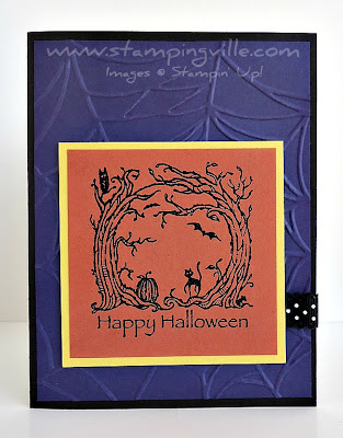 Haunted Forest Rubber Stamp by Stampin' Up!