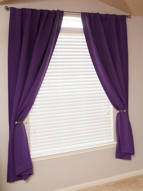 Girls Bedroom Window Treatment