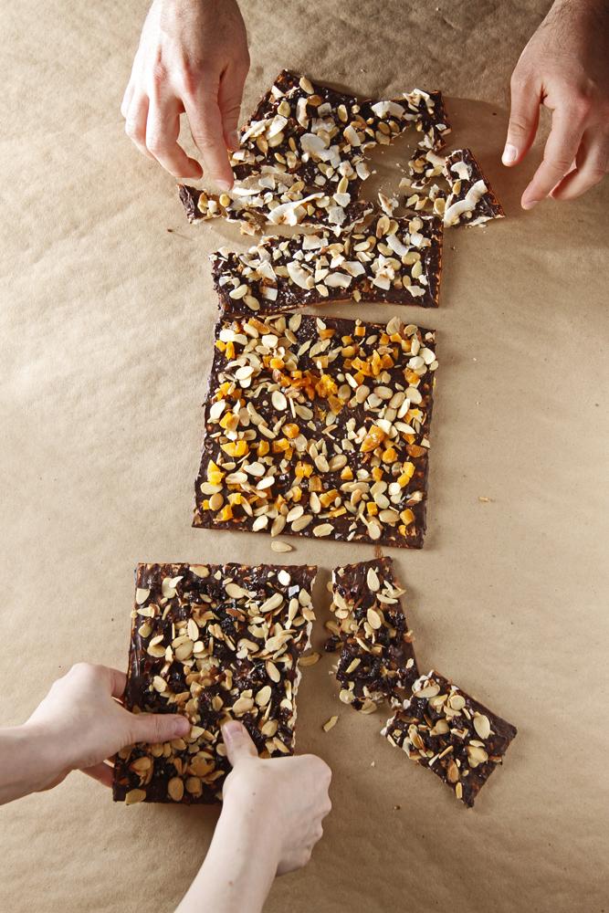 The Chubby Vegetarian: Chocolate-Covered Matzo + Vanilla Ice Cream