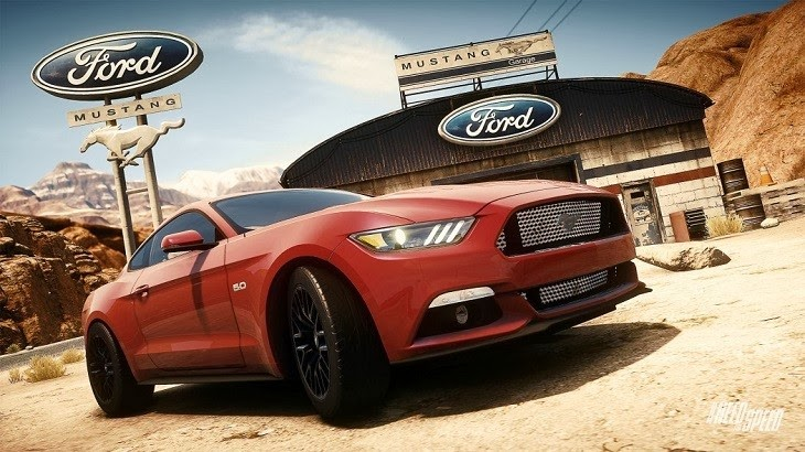 "All-New Ford Mustang Has a ""Need for Speed"""