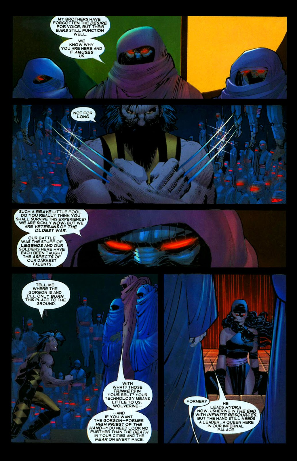 Read online Wolverine (2003) comic -  Issue #29 - 14