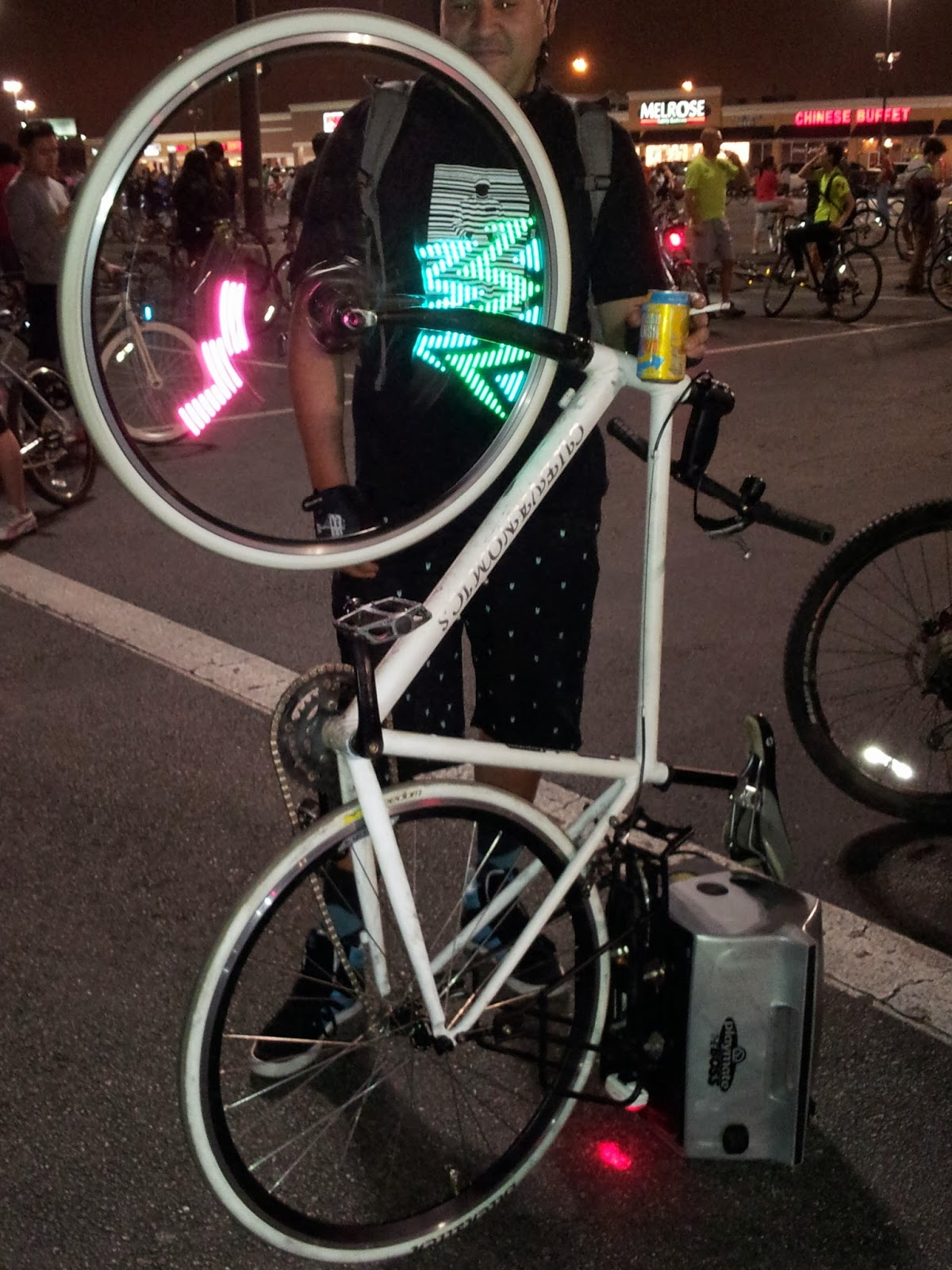 "Houston ""Critical Mass"" Bike Ride Photos. Favorite Bike"