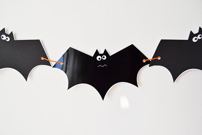 ghirlanda di pipistrelli da scaricare