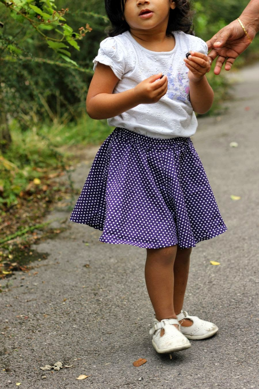 Culottes for little girls