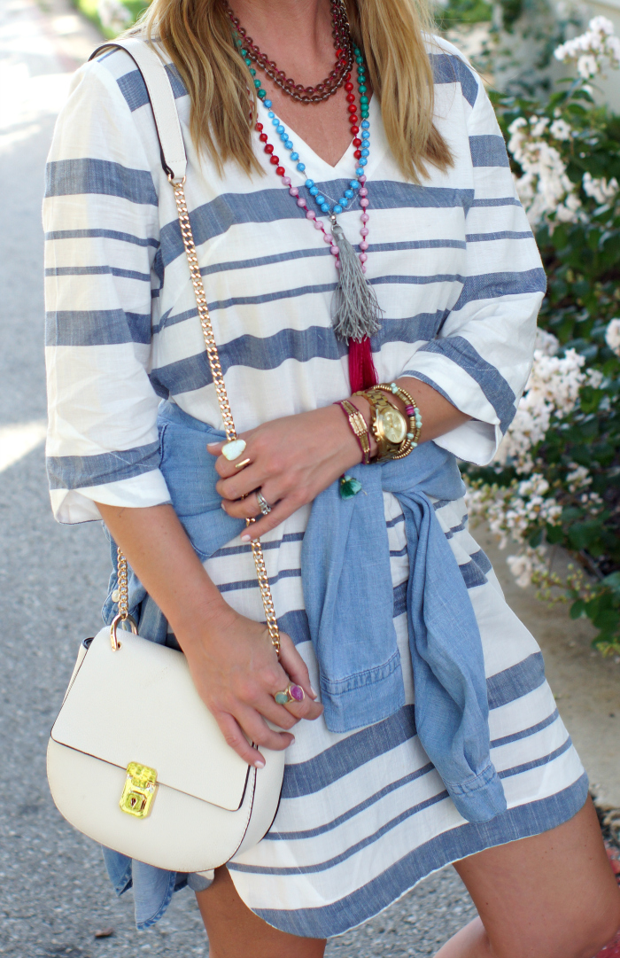 Tassel, beaded and Kendra Scott jewelry for summer