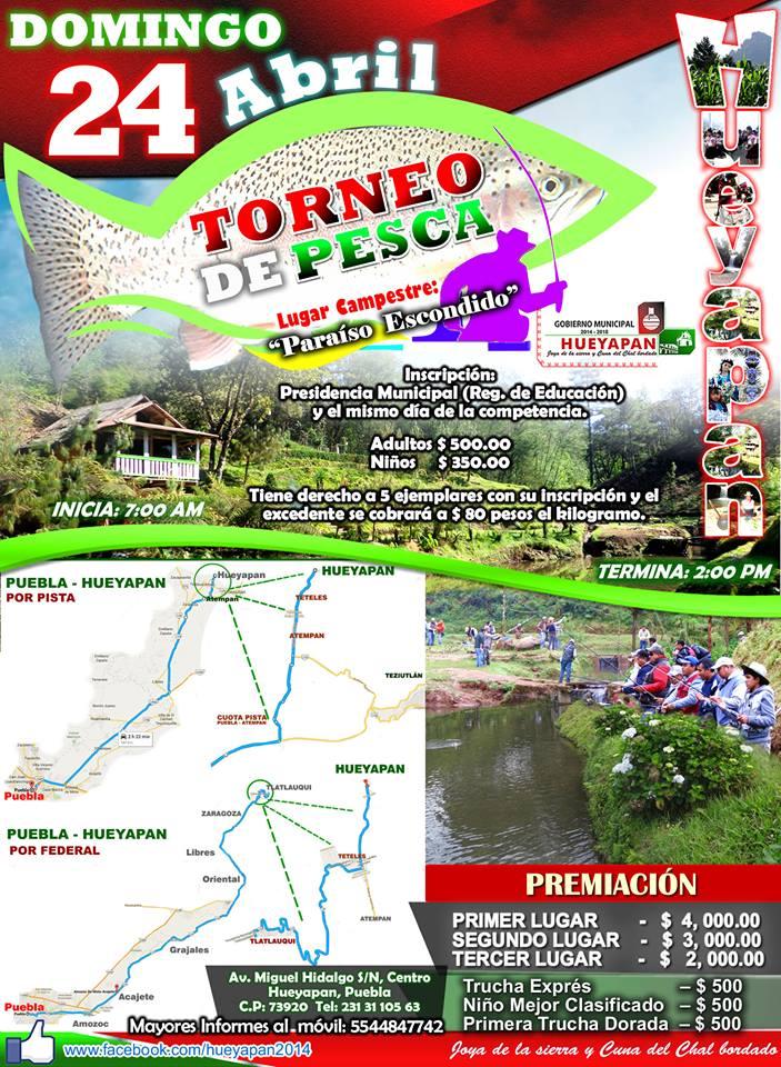 TORNEO DE PESCA HUEYAPAN