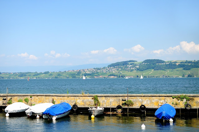 murten lake boat