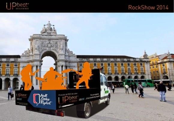 Programa UpBeat Rock Show 2014 em Lisboa