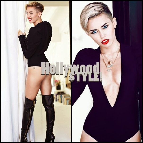 Miley cyrus sexy sin ser vulgar en sesi n de fotos para fashion magazine hollywood style Revista fashion style magazine