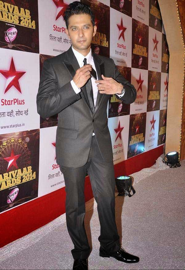 Vatsal Seth At The Star Parivaar Awards 2014