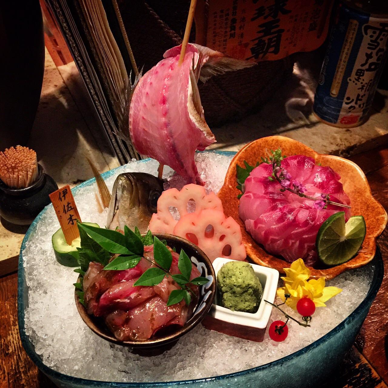 rakuen japanese restaurant okinawa food hong kong sashimi fish seafood