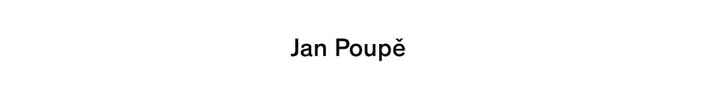 Jan Poupě