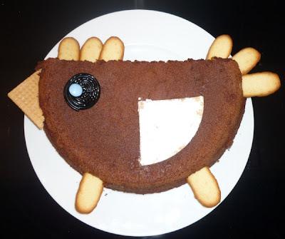 gâteau poule