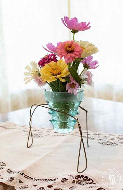 electric insulator vase