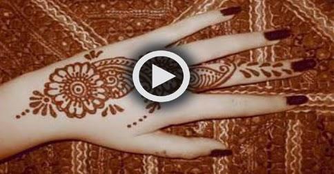 How To Make Simple Mehndi Design - Mehndi Tutorial ...