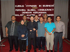 KURSUS HYPNOSIS IN BUSINESS ( 7 MEI 2011)