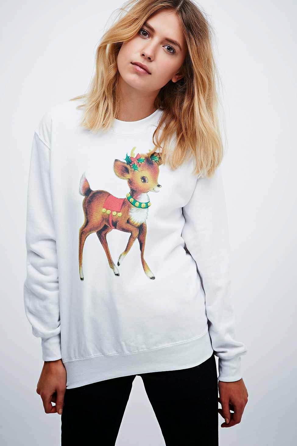 cartoon christmas jumper, urban outfitters christmas jumper,