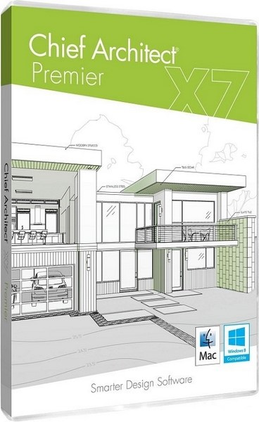 Chief architect premier x7 academic 17 3 1 1 2d and 3d for Exterior design software free download