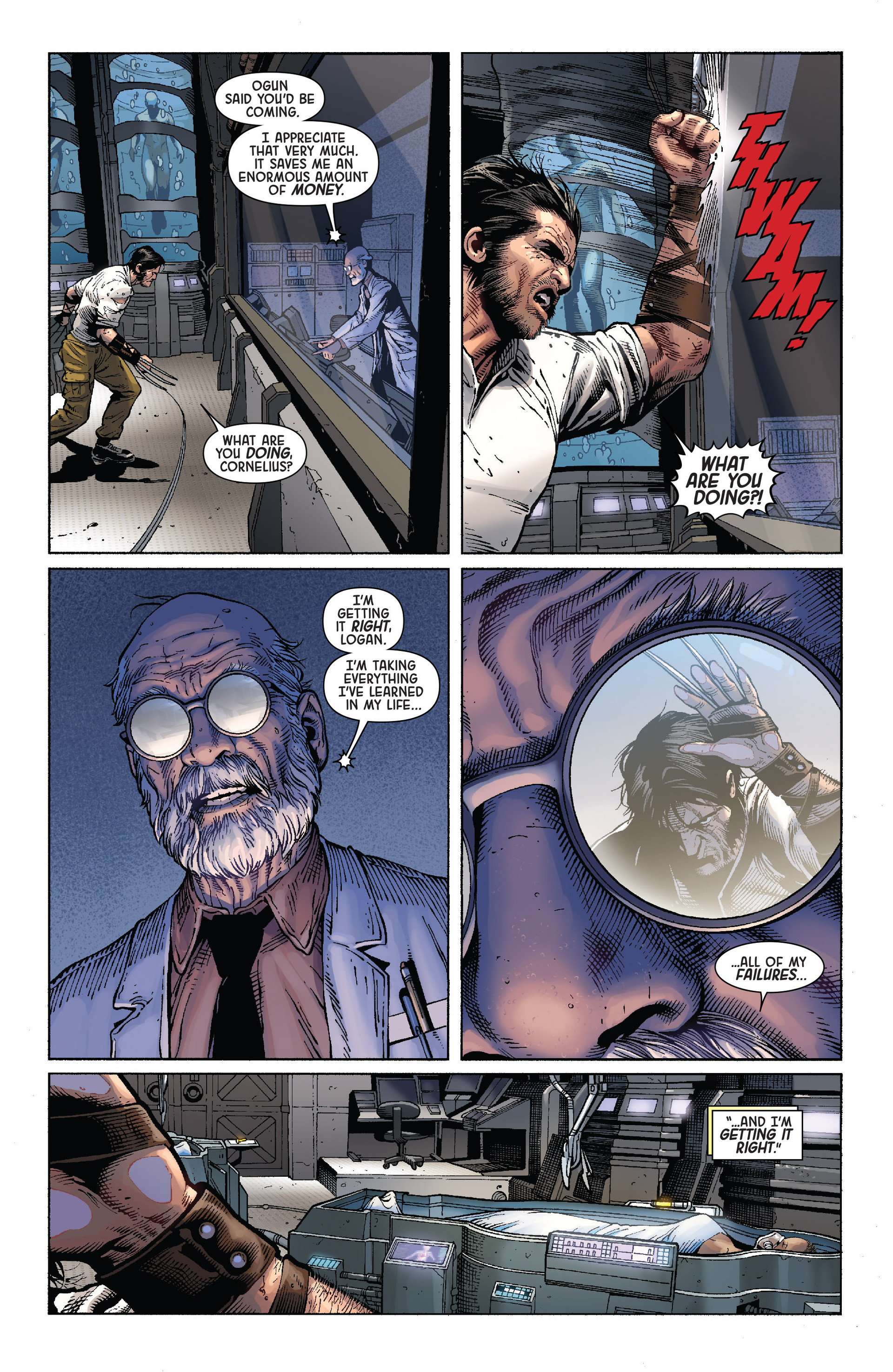 Death of Wolverine Issue #4 #4 - English 7